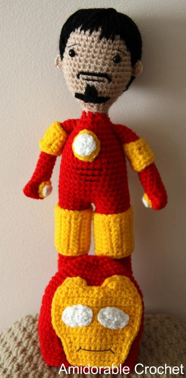 Amigurumi Iron Man: Stark-craft - Technabob