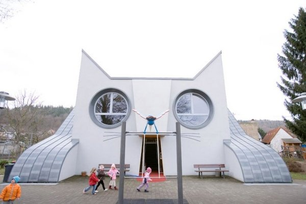 This Kindergarten is a Giant Cat