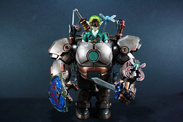 Custom Steampunk Link Action Figure (Hy)rules