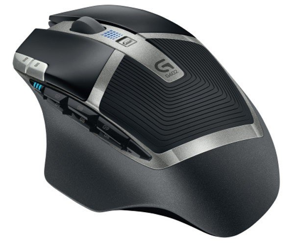 Logitech G602 Wireless Gaming Mouse Runs 125 Hours on Single AA Battery