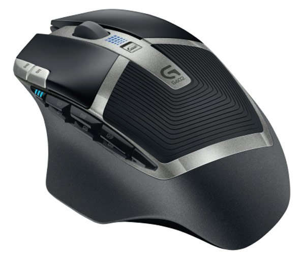 logitech g602 top mouse back photo