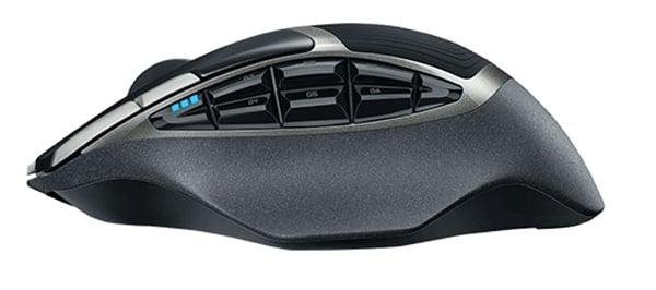 logitech g602 top mouse side photo