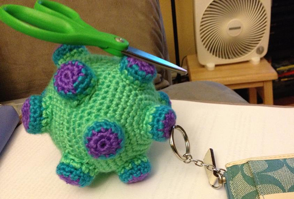 DIY Magnetic Crocheted Katamari is Very Attractive