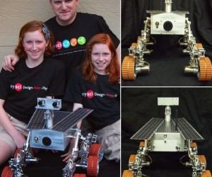 Sisters Build Their Own Mars Rover
