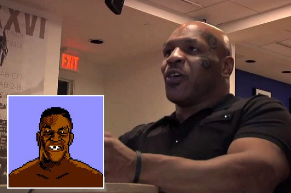 Mike Tyson Plays Mike Tyson's Punch-Out