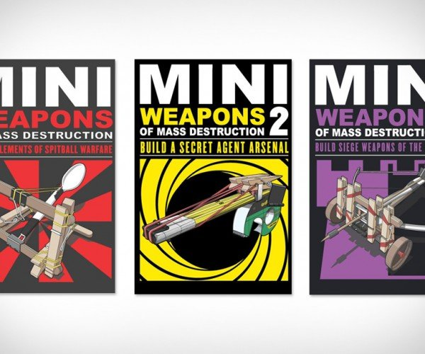 Mini Weapons of Mass Destruction: Build Your Own Armory with Ease