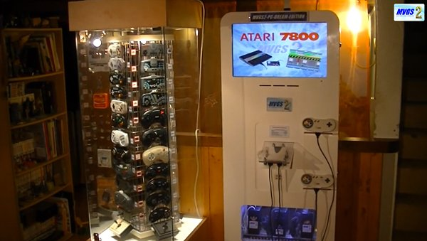 Emulator Cabinet Works with 75 Controllers, 30+ Consoles and 2 Happy Players