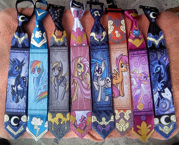 My Little Pony Ties: Friendship is Business