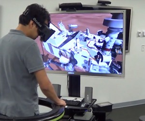 NASA Experiments with Oculus Rift & Virtuix Omni: One Small Step for VR