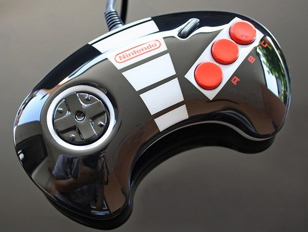 Custom NES Sega Genesis Controller Perfect for Playing Super Sonic Brothers