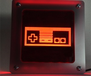 Nintendo Controller LED Wall Art: A Gamepad for your Pad