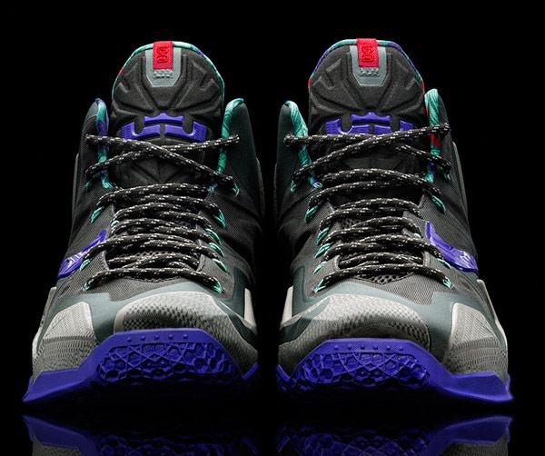nike lebron james 11 basketball shoe sneaker front photo