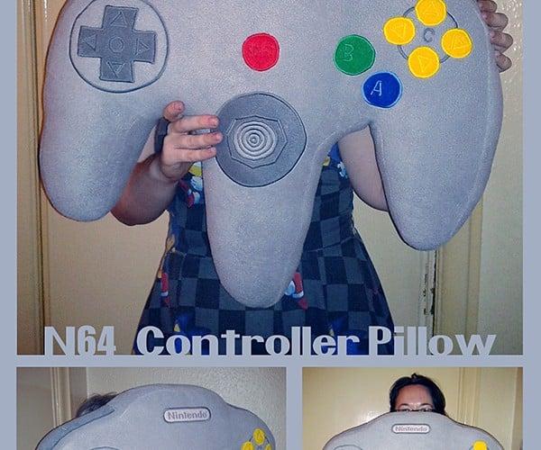 N64 Controller Pillow: Zzzz Trigger