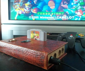N64 Book Casemod: The Nintendomicon