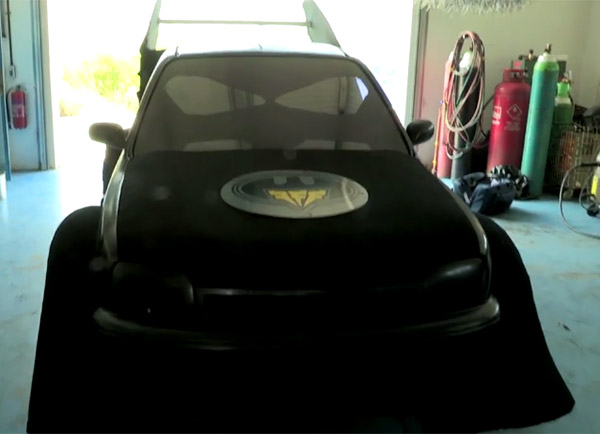 Nissan Micra Turned into the Batmobile Junior