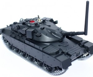 Signal Jamming Toy Tank: Frypower