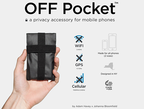 OFF Pocket Phone Case Blocks Wireless Signals: It Ain't Too Much for Me to Jam