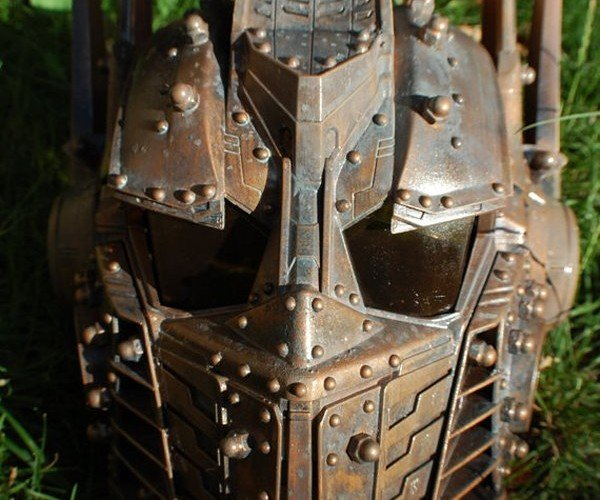 Custom Optimus Prime Mask: Steampunks in Disguise