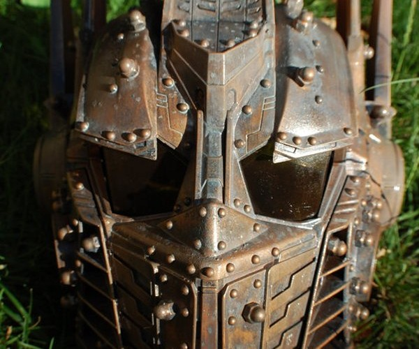 Custom Optimus Prime Mask: Steampunks in Disguise