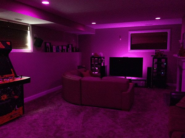 Philips hue lightstrips and bloom an eyes on review technabob overall im impressed with everything about the hue ecosystem and am happy that philips is starting to add new lamps to the series lightstrips can really aloadofball Gallery
