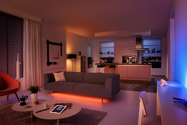 Philips Hue Adds LivingColors Bloom Lamp and Flexible LightStrips to the Family
