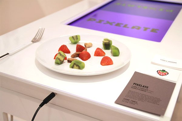 Pixelate Wants You to Play with Your Food