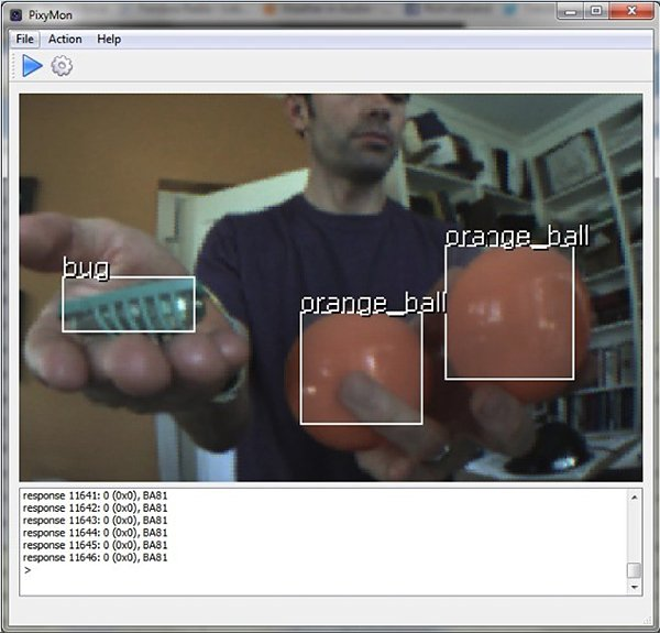 pixy camera vision sensor by charmed labs and cmu 3