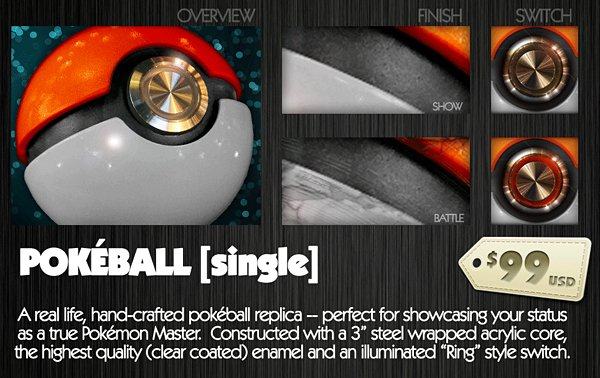 pokeball replica by pallet town exports