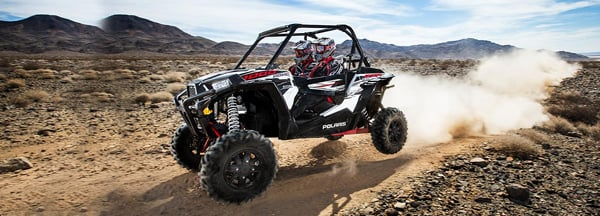 polaris rzr xp 1000 dune buggy in action