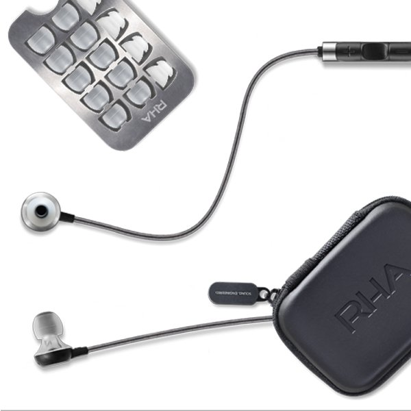 rha audio headphones ma600i ma750i package