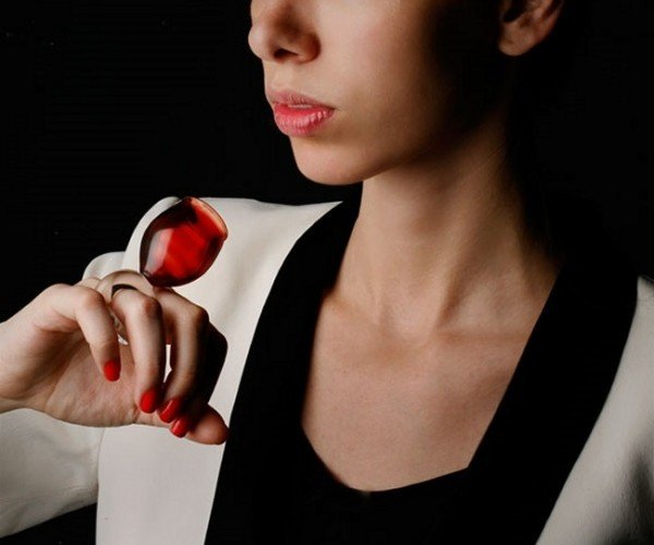 Wearable Drinking Glasses: With This Ring, I Thee Drink