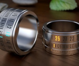 The Ring Clock is a Watch for Your Finger