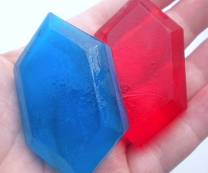 Zelda Rupee Soap: Be Clean and Rich