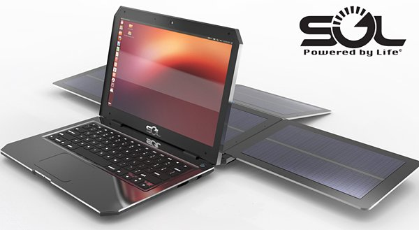 SOL Laptop Runs on Solar Power & Ubuntu: Double Open Source