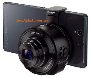 Sony Lens Cameras Want Your Smartphone's Body [Rumor]