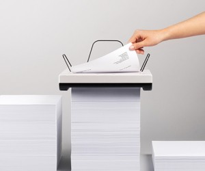 Stack Printer Concept is Its Own Paper Tray