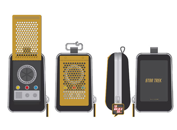 Star Trek Communicator Dog Bag Dispenser: Poop, The Final Frontier