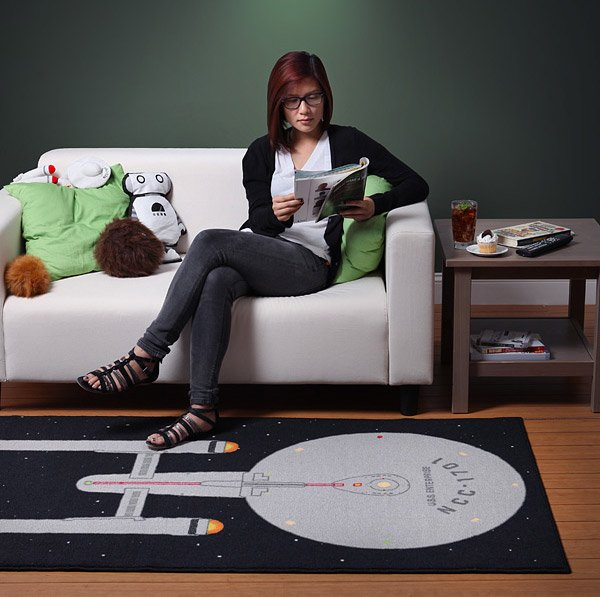 starship enterprise rug 1