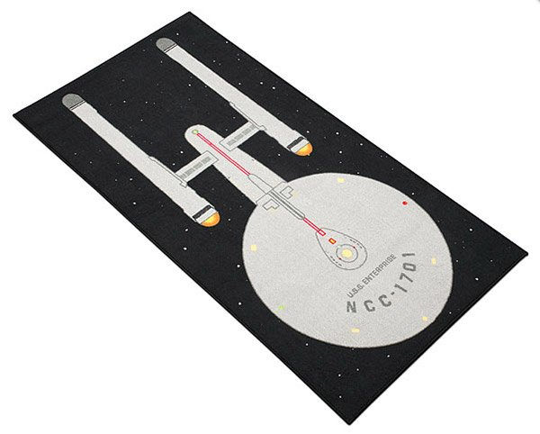 starship enterprise rug 2
