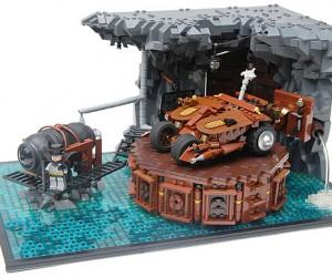 LEGO Steampunk Batcave: Na na na na na na Choo Choo