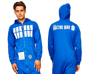 TARDIS Onesie is Dorkier on the Inside