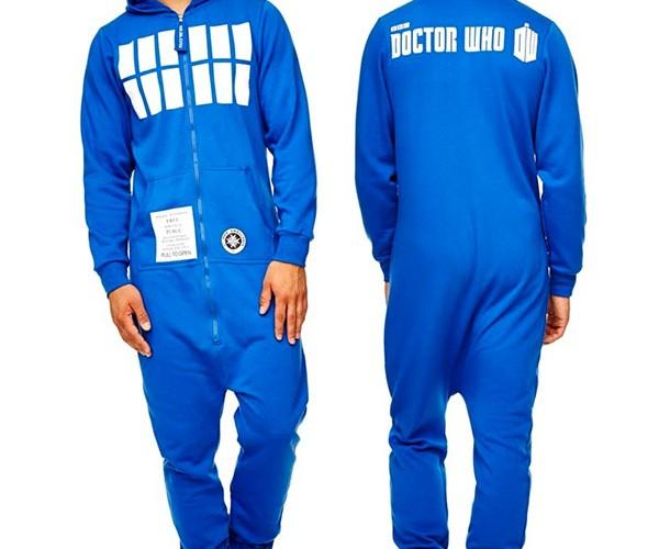 TARDIS Onesie is Dorkier on the Inside