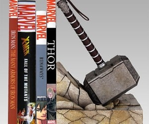 Thor Mjölnir Bookend Lets You Hammer in the Library