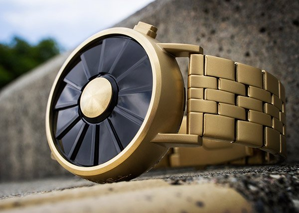 Tokyoflash Kisai Blade LED Watch Inspired by Turbine Engines