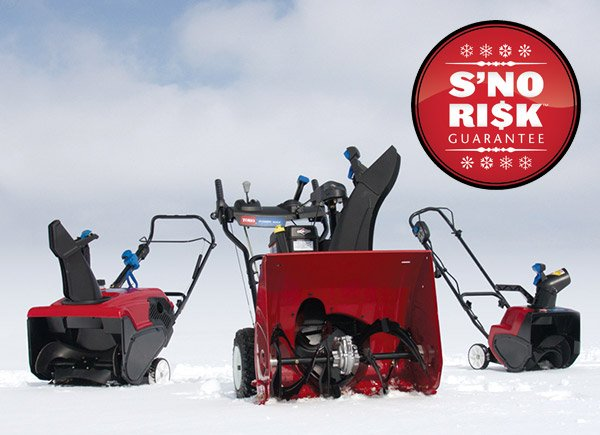 Bought a Snowblower, and Then it Doesn't Snow? Toro Has You Covered