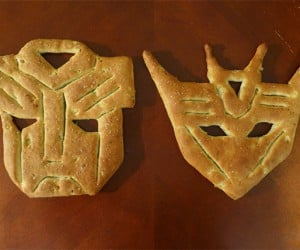 Transformers Fougassee Bread Loaves: Baked Goods in Disguise