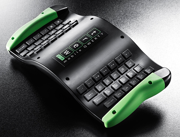 TREWGrip Keyboard & Mouse Has Its Keys at the Back: Tush Typing