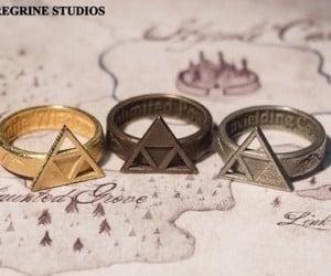 Zelda Triforce Rings: Hyrule Jewelry (Hyrulery?)