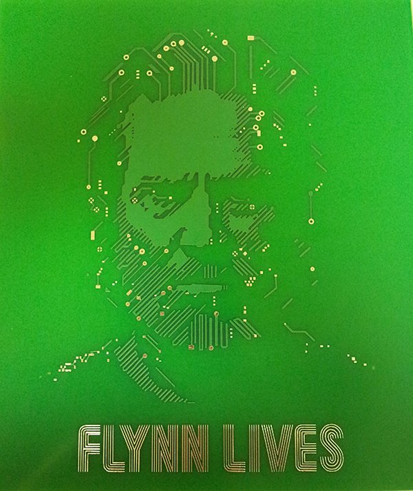 tron flynn lives printed circuit board art by taylor john brooks