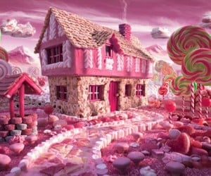 Foodscapes: Complex Landscapes Constructed Entirely from Food